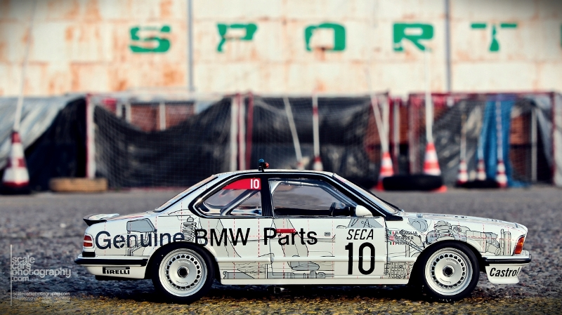 1986 BMW 635 SCi #10 BMW PARTS SPA 1986  (71)