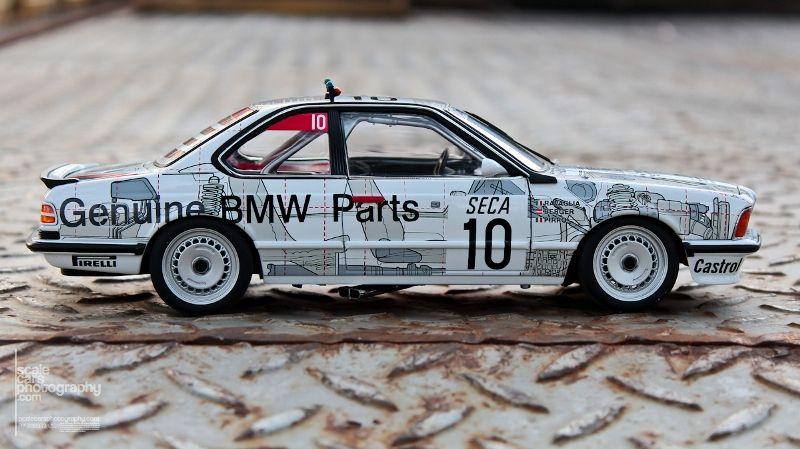 1986 BMW 635 SCi #10 BMW PARTS SPA 1986  (13)