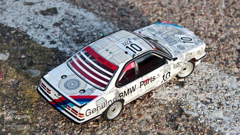 1986 BMW 635 SCi #10 BMW PARTS SPA 1986  (57)