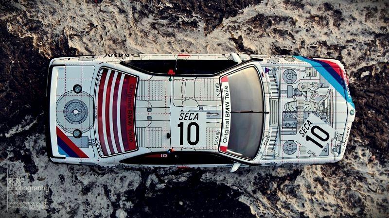 1986 BMW 635 SCi #10 BMW PARTS SPA 1986  (70)