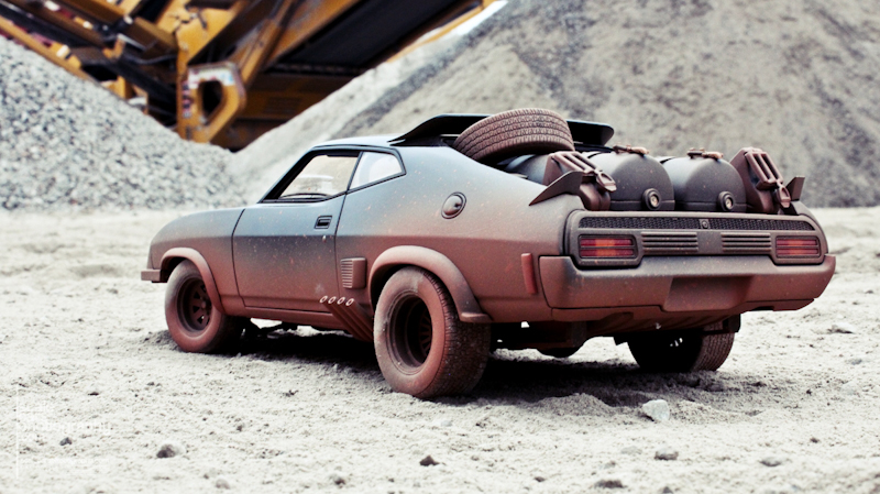 1981 MAD MAX 2 INTERCEPTOR  (38)