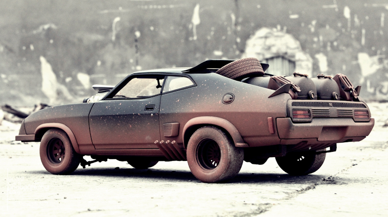 1981 MAD MAX 2 INTERCEPTOR  (5)