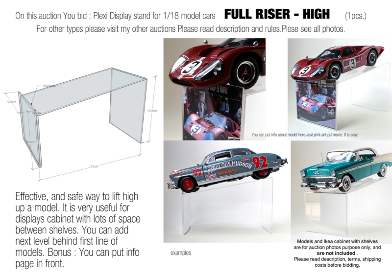stands for diecast models