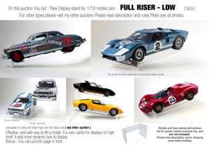 display diecast stands (10)