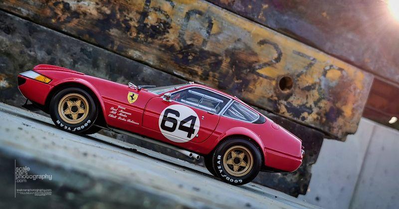 Ferrari 365 GTB 4 Kyosho (14)